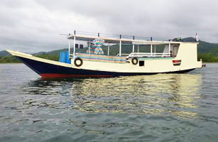 Blue Eyes Boat