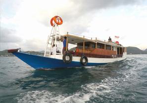 KLM Arkilia Komodo Boat