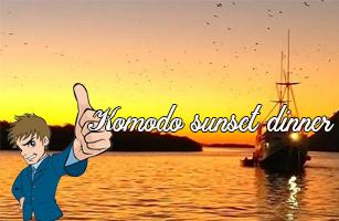 Komodo Sunset Dinner Cruise