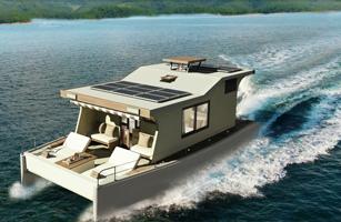 Nyaman Catamaran Boat