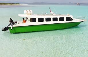 KM Poco Ranaka Speed Boat