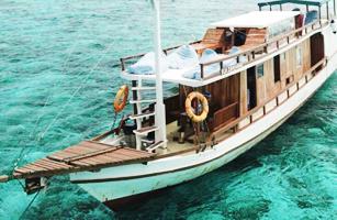 KLM Regina Komodo Boat