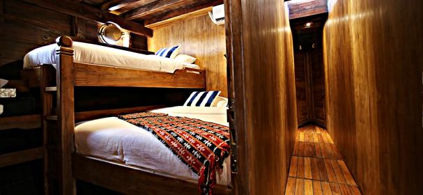 Cabin Adishree Boat