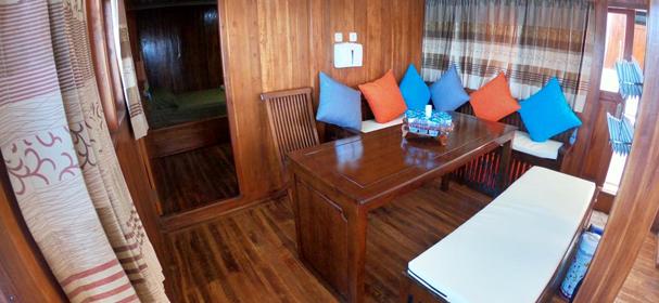 Cabin Of KLM Al Madira Komodo