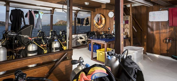 MV. Ambai Diving Equipment