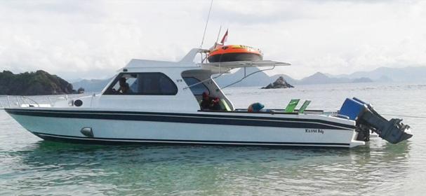 Amfibi Speed Boat Komodo