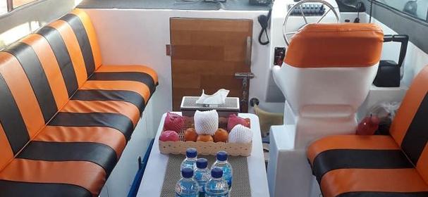 Cabin Of Surga Bahari Fast Boat