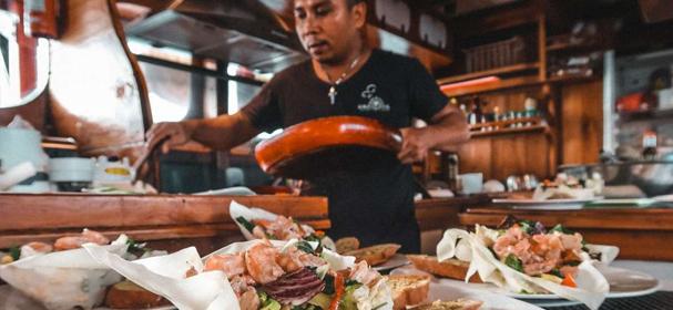 Raja Ampat sea Food
