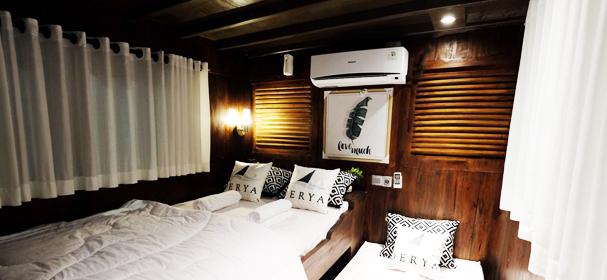 MV Derya Liveaboard Cabin