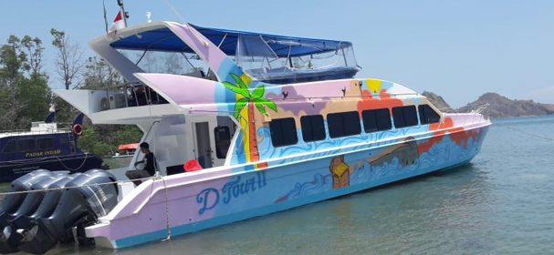 Dtour II Komodo Fast Boat charter