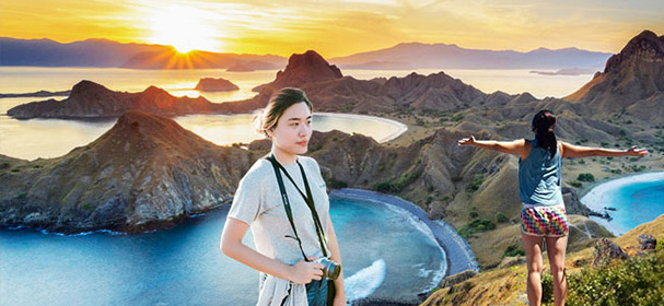 Exotic Padar Island