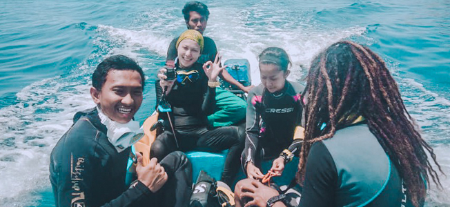 Giona Diving Trip
