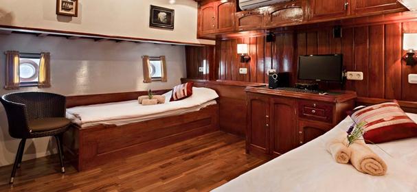 MV Indo Siren Cabin