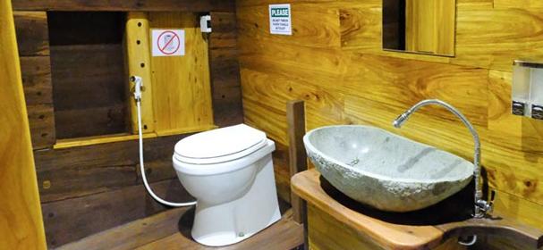 Jakare Liveaboard Toilet