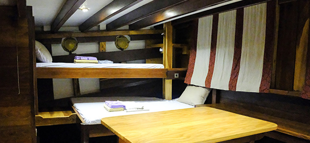 Jakare Liveaboard Accommodation