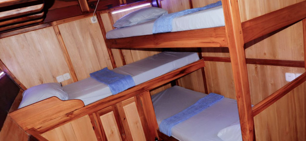 Bunk Bed KLM Chaya Bersama
