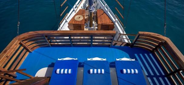 Mari deck Boat
