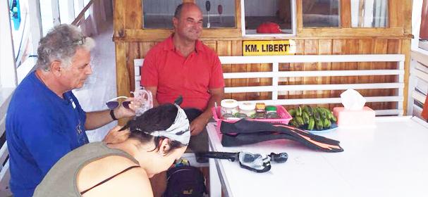 KM Liberty Boat