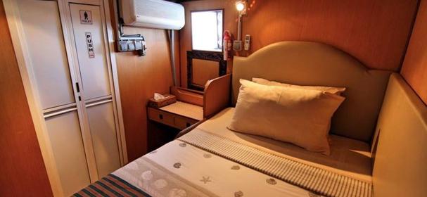 MV Tarata Boat Cabin