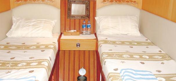 MV Raja Ampat Cabin