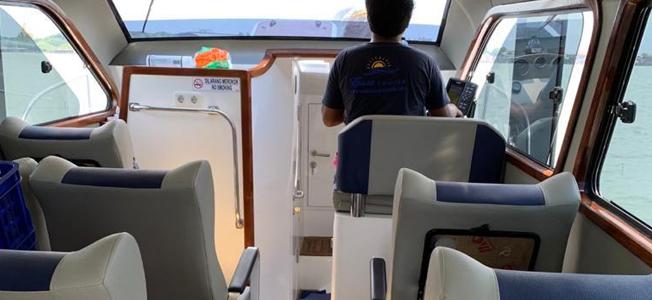 New Spirit Fast Boat Seat