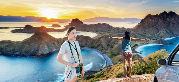 Padar Island Tourism Object