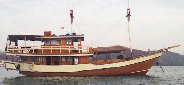 Pasolle Komodo Boat
