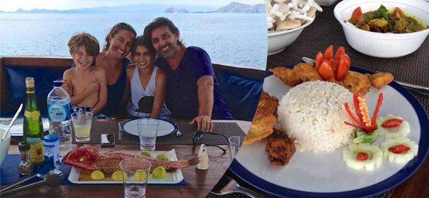 MV Perjuang Boat Charter Restaurant