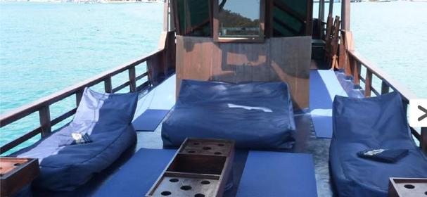MV Perjuang Boat Charter Sandeck