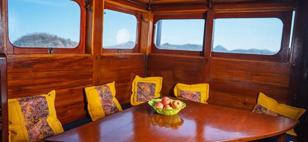 SY Raja Naga Laut Dinning Room