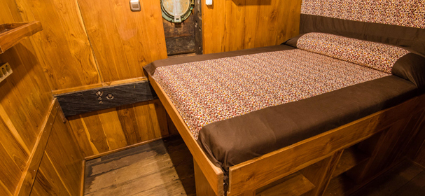 Pindito liveaboard Indonesia Double Bed