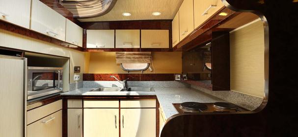 Plataran Komodo Yacht Kitchen