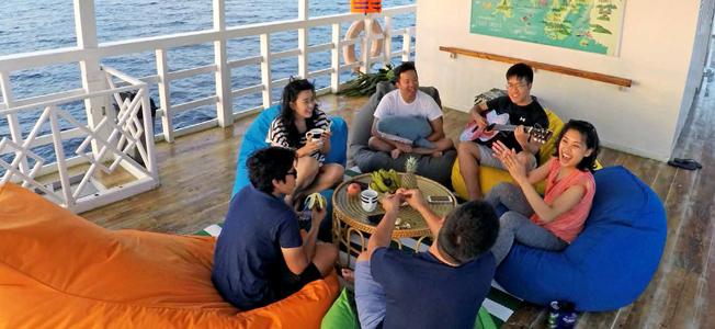 Rafida Liveaboard Deck