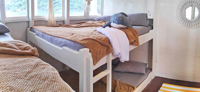 Rafida Liveaboard Double Bunk Bed