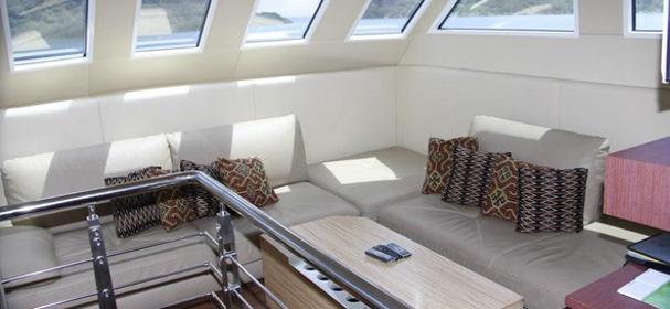 Rangga Alo Yacht Dinning Room