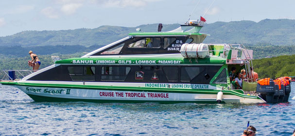 Scoot Fast Cruises Nusa Lembongan