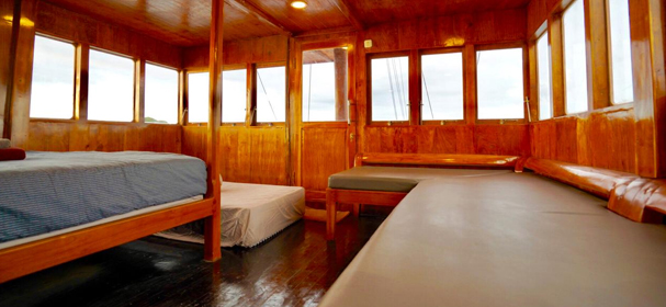 KLM Sea Familia  Boat Charter Single Bed