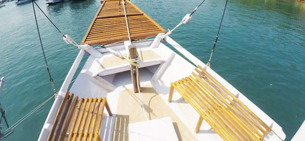 KLM Sipakatau Boat Sundeck