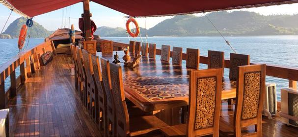 MV Vidi Sundeck - Boat Charter Komodo
