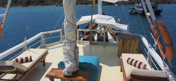 Warisan Komodo Boat Sundeck