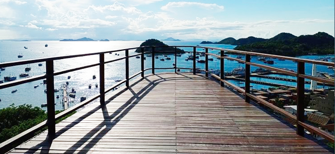 Waterfront city Labuan Bajo.