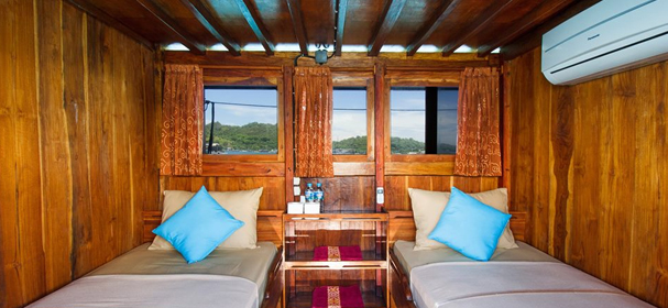 KLM Ayla Cruises Komodo Cabin