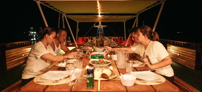 KLM Oceanpro2 Dinner