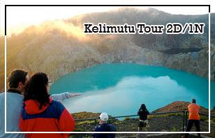 Mount Kelimutu Tour 2D/1N